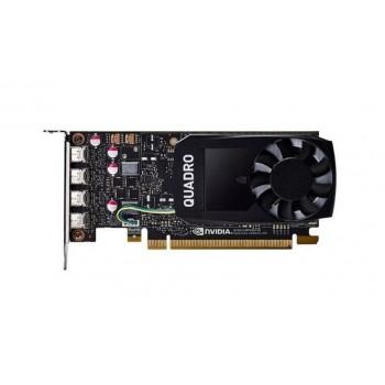 NVIDIA QUADRO P1000 4GB DDR5 4xMINI DISPLAYPORT