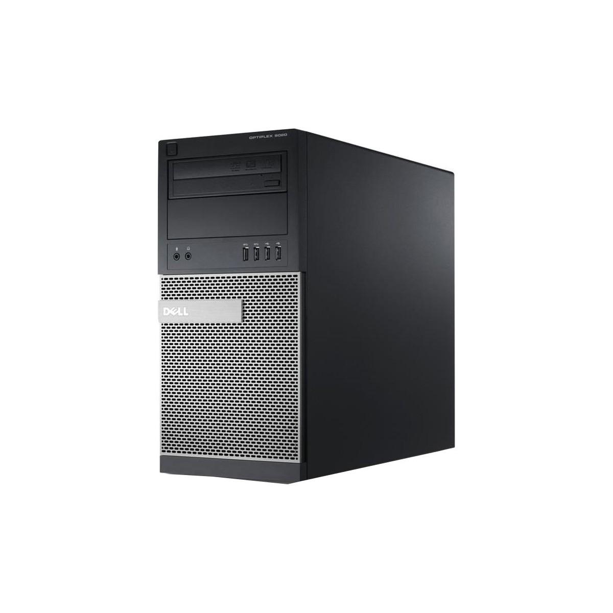 DELL 9020 MT i7-4790 16GB 128GB SSD 500GB HDD W10