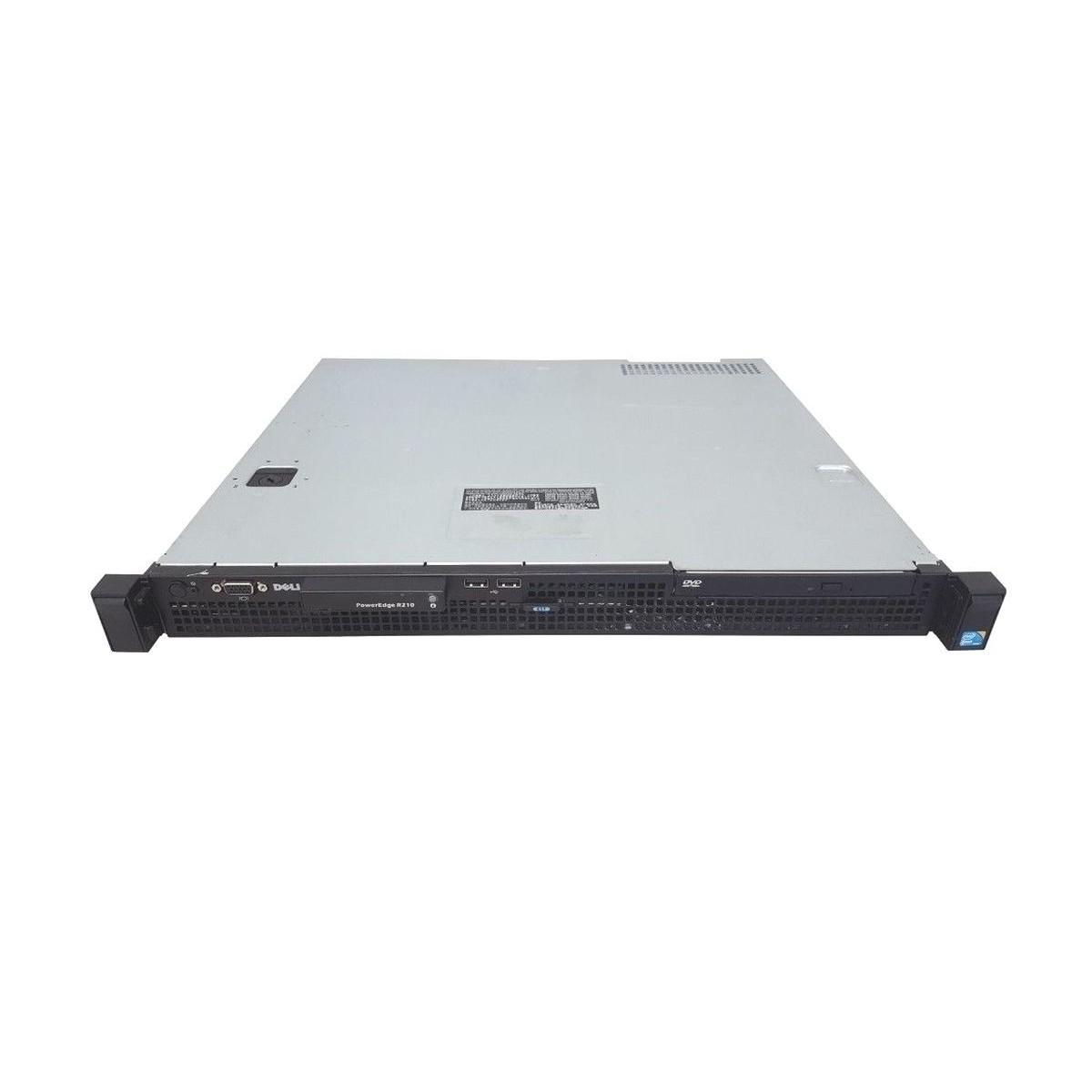DELL R210 2.4QC 8GB RAM 2x2TB SATA H200 GŁ.40CM