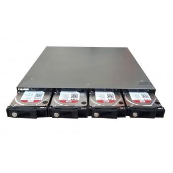 NAS QNAP TS-412U 4x3TB SATA 3,5 1xPSU